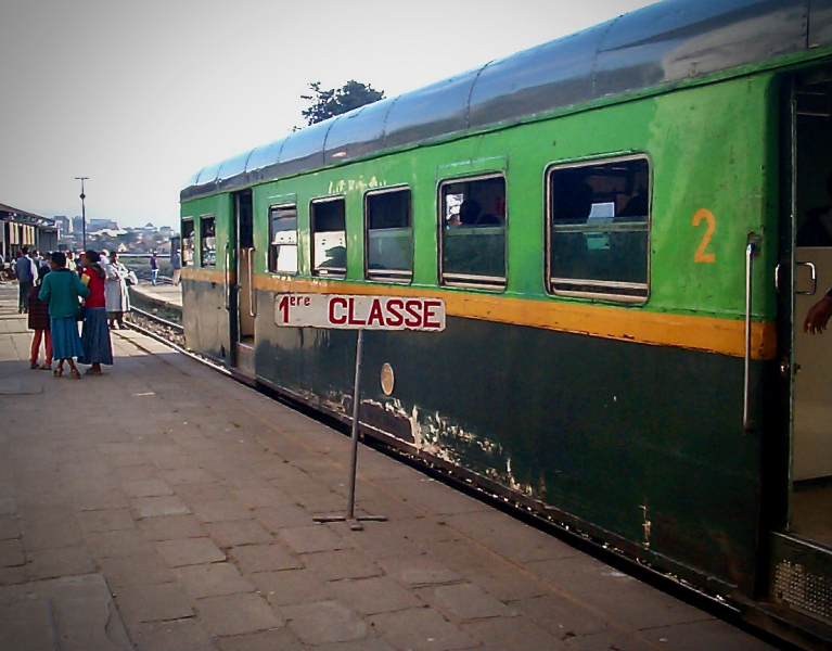 The 1st class carriage