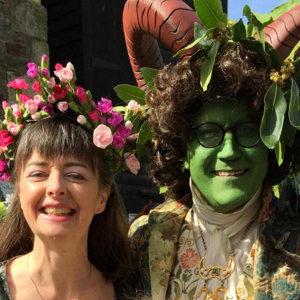 JITG Hastings - Green horn man