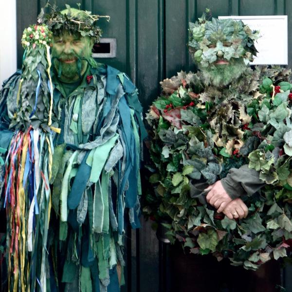 JITG Hastings - Leaf Men Guarding Door