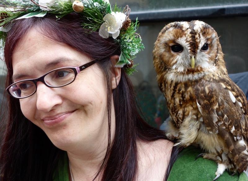 JITG Hastings - Owl Lady