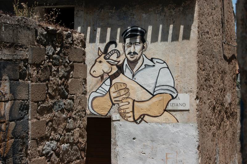Shepherd mural, Orgosolo