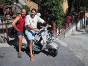 Dave & Alberto with Sophia in Menaggio